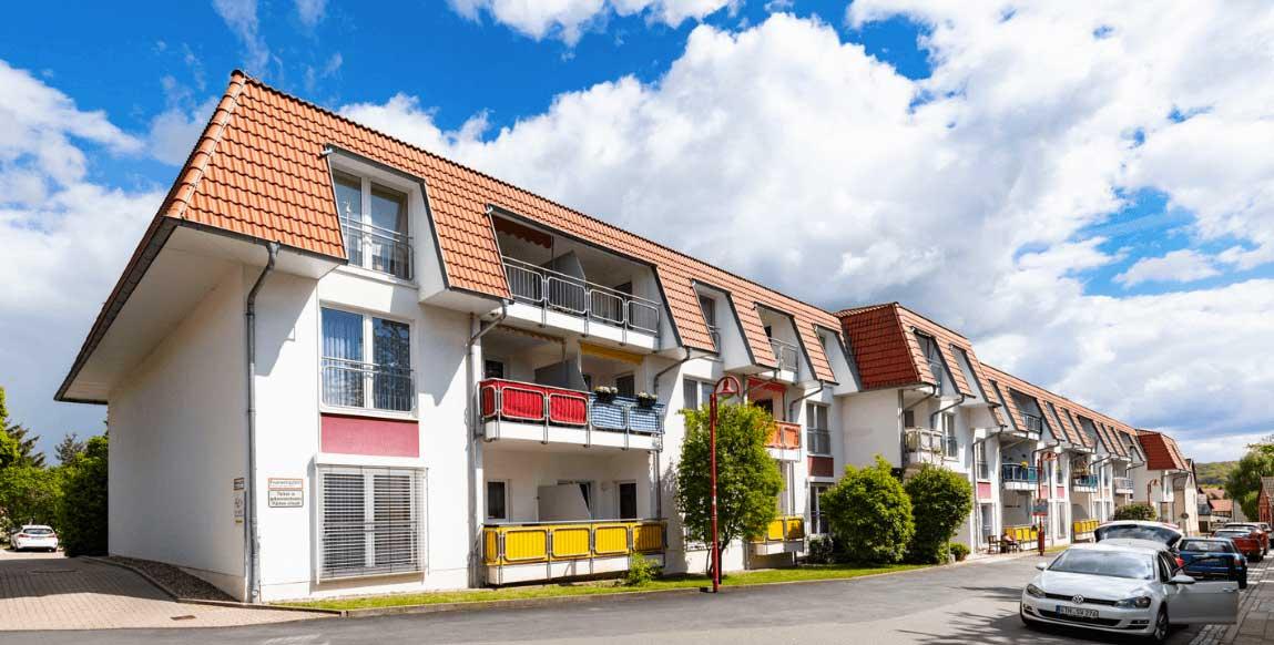 AlexA Gotha Pflege Betreuung Hausansicht Senioren Altenpflege