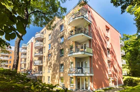 Klein Chemnitz AlexA Residenz Ansicht Senioren Angebot