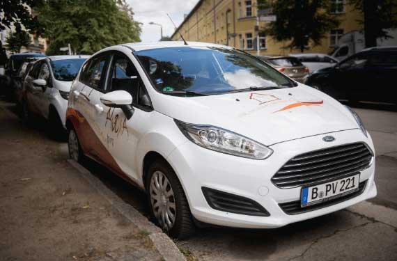 Pankow Berlin AlexA Ambulant Fahrzeugflotte mobil unterwegs Pflege zuhause