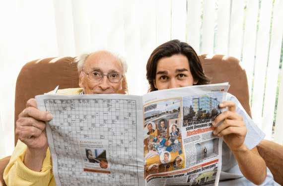 Pflegen AlexA Pflege Betreuung zuhause Senioren Angebot