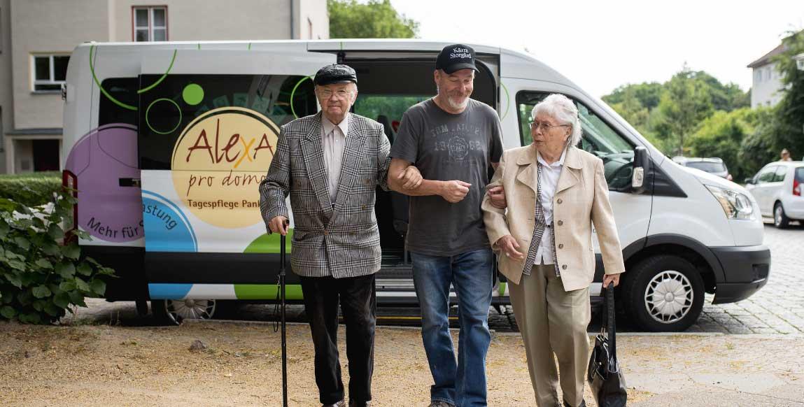 Pankow Berlin AlexA zuhause Betreuung Pflege Ambulant Fahrdienst