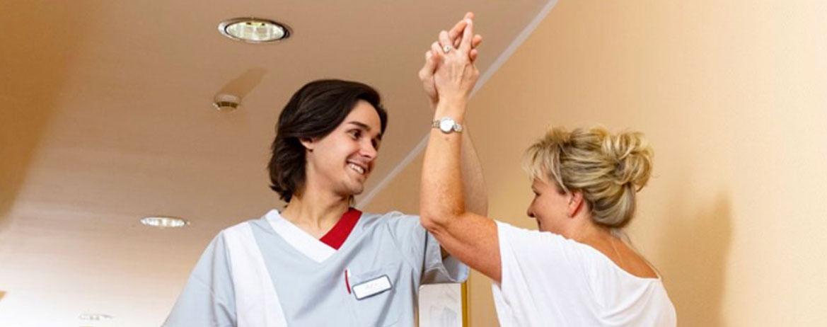 header Ausbildung Alexa Start deutschlandweit Pflege und Betreuung Berufsstart